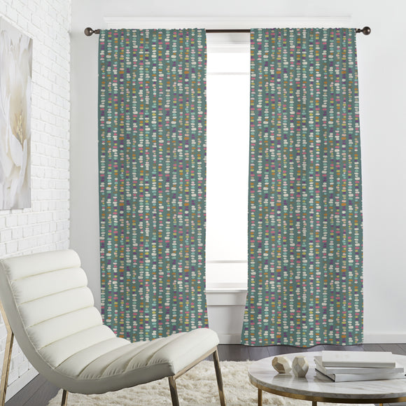 Beaded Stones Curtains