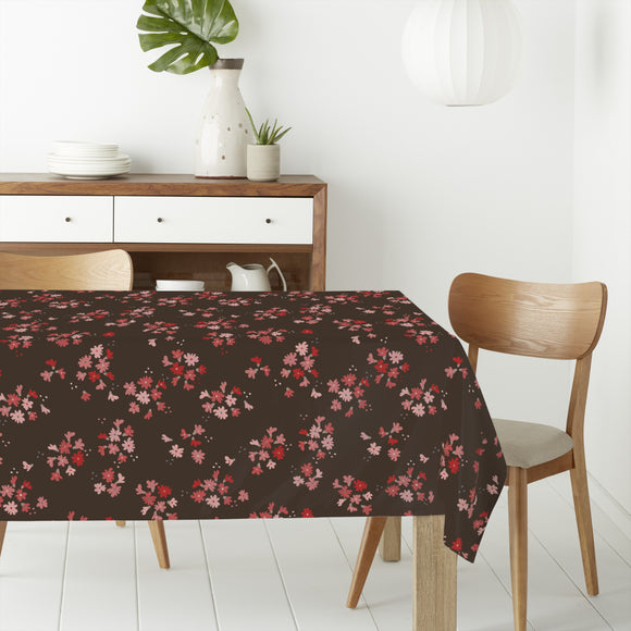 Bed Of Little Flowers   Rectangle Tablecloths