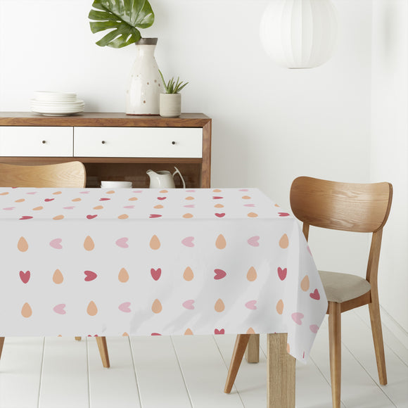 You turn my heart round Rectangle Tablecloths