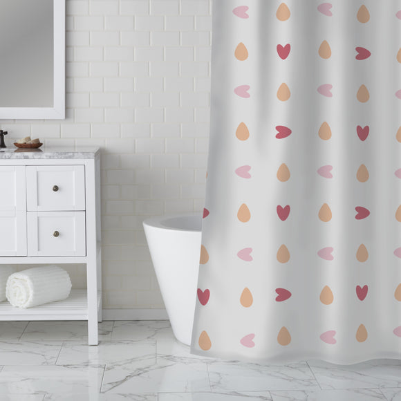 You turn my heart round Shower Curtain
