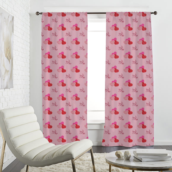 The shape of love Curtains