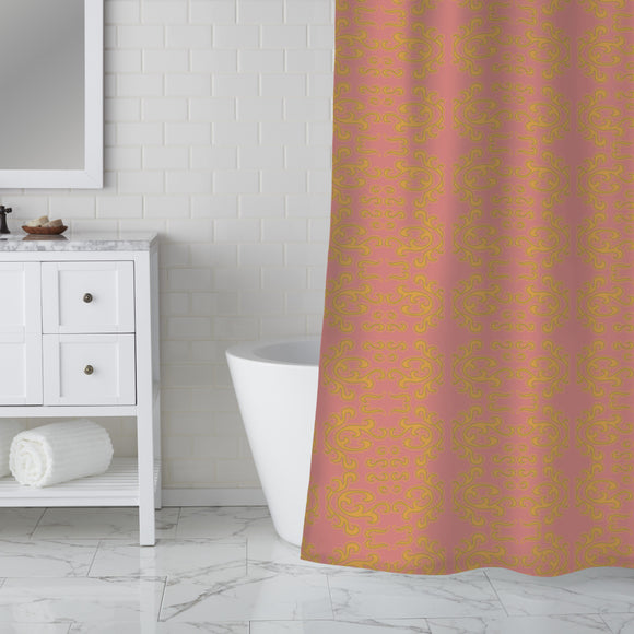 From India with love Shower Curtain