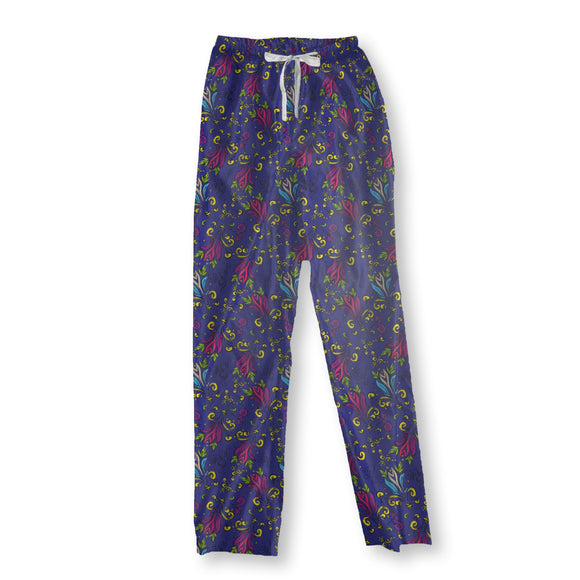 Hand-drawn Splash Pajama Pants
