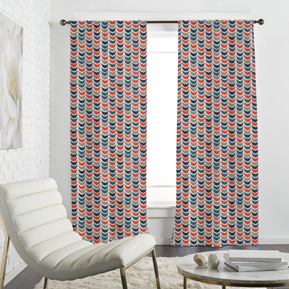 Stacked bowls Curtains