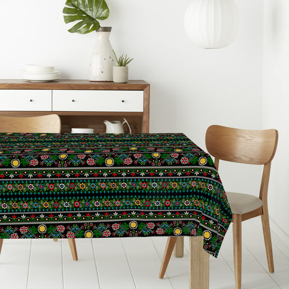 Hungarian embroidery Rectangle Tablecloths