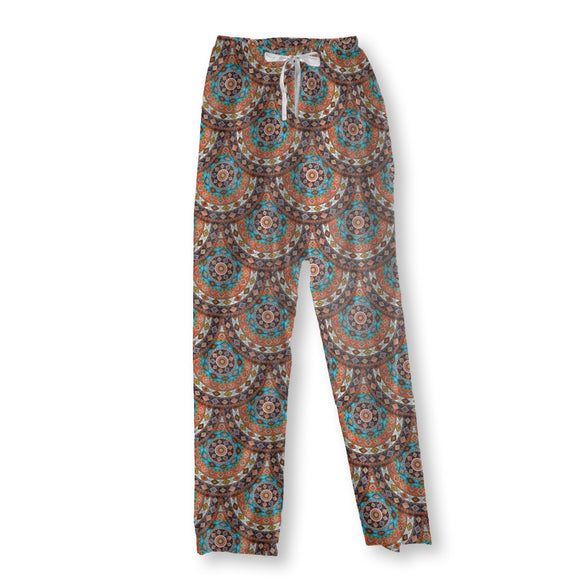 Native Amarican Summer Wheel Pajama Pants