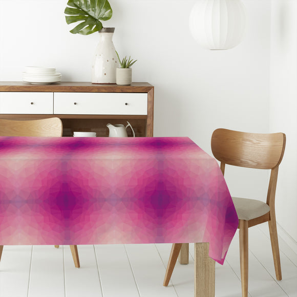 Pink Clouds Rectangle Tablecloths