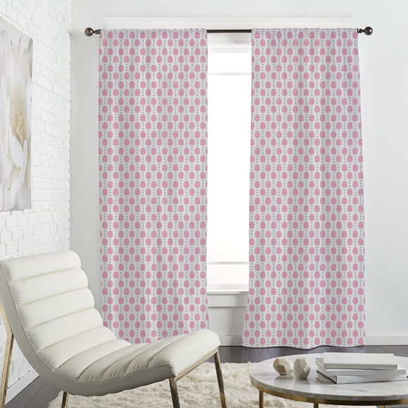 Simple Eggs and dots Curtains