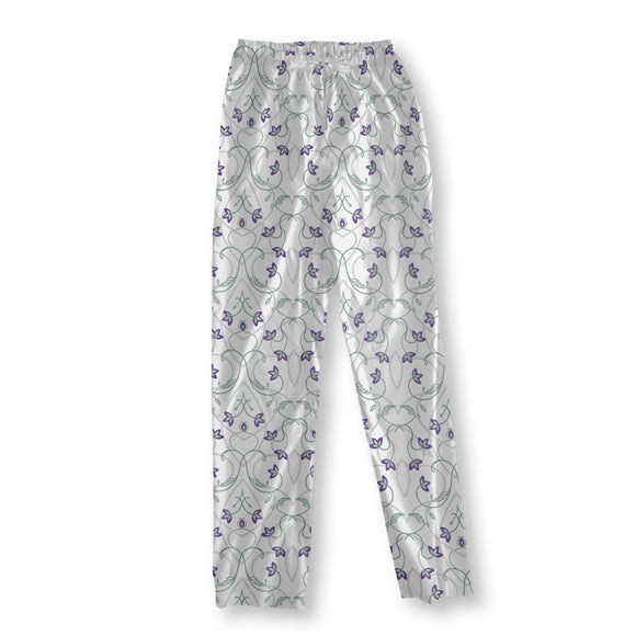 Flowers On The Gothic Gate Pajama Pants