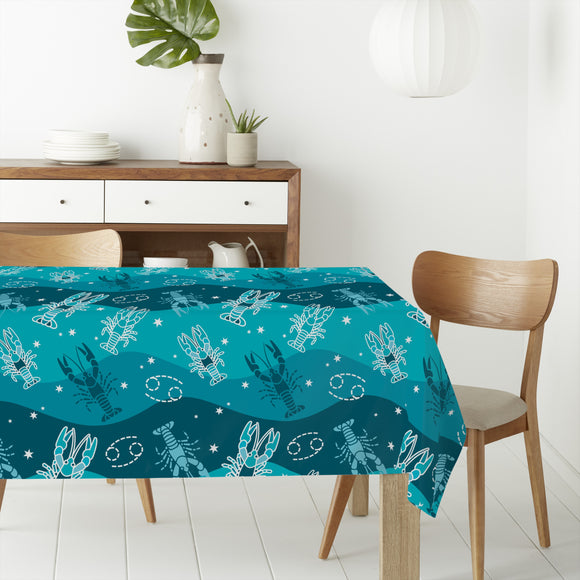 Cancer Rectangle Tablecloths