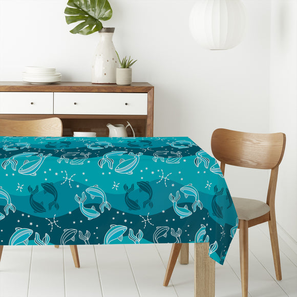 Pisces Rectangle Tablecloths