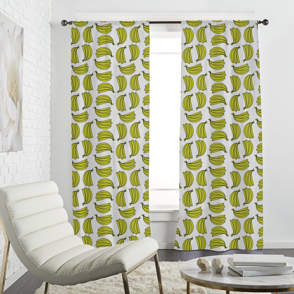 Banana Bouquet Curtains