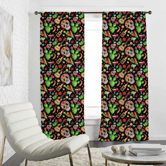 Cinco De Mayo Holiday Curtains