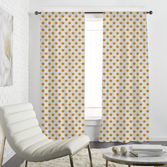 Flower Bowl Curtains