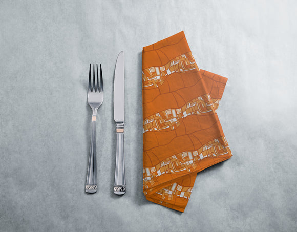 Stilismo Orange Napkins