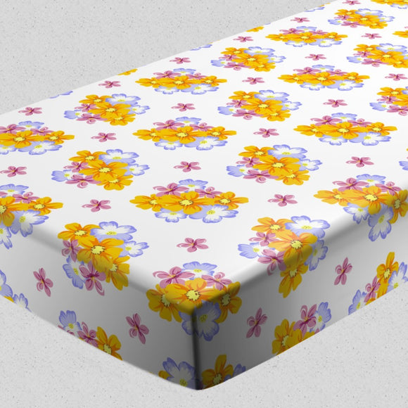 Floral Arrangement Fitted Sheets