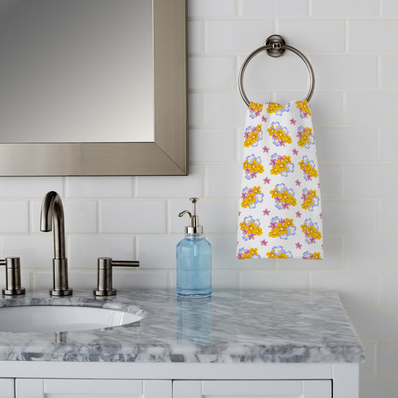 Floral Arrangement Hand Towel