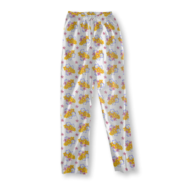 Floral Arrangement Pajama Pants