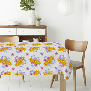 Floral Arrangement Rectangle Tablecloths