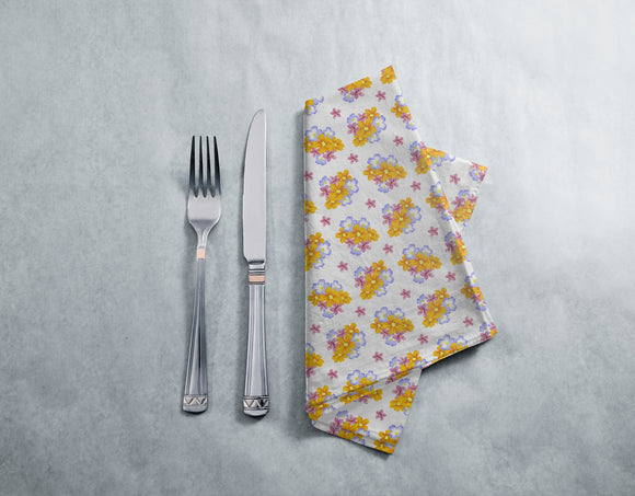 Floral Arrangement Napkins
