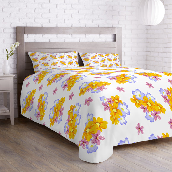 Floral Arrangement Duvet