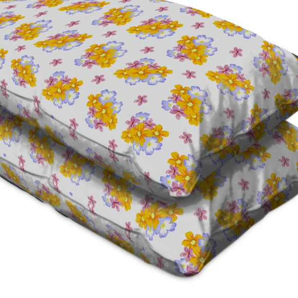 Floral Arrangement Pillow Case