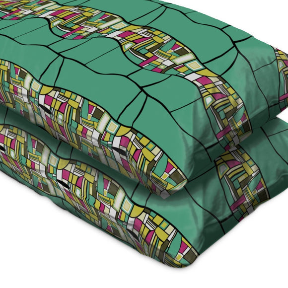 Stilismo Turqoise Pillow Case