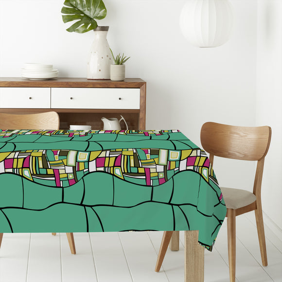 Stilismo Turqoise Rectangle Tablecloths