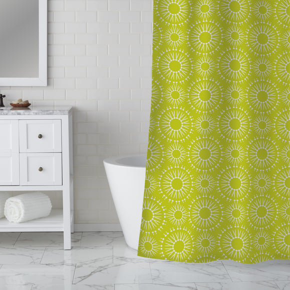 Striking Radiencies Shower Curtain