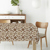 Soft Retro Tile Rectangle Tablecloths