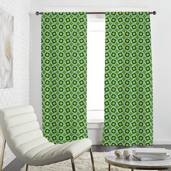 Squares in Shape Curtains