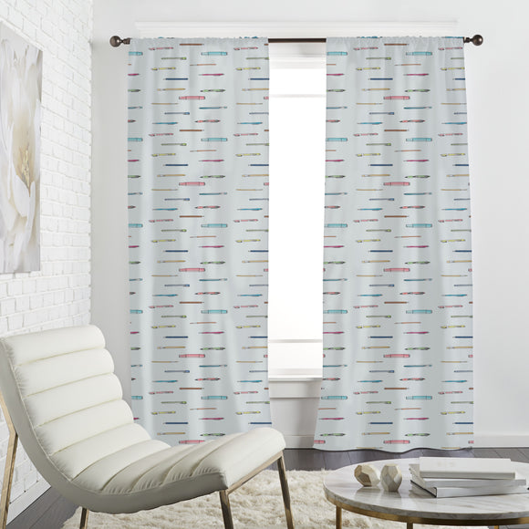 New School Supplies Curtains