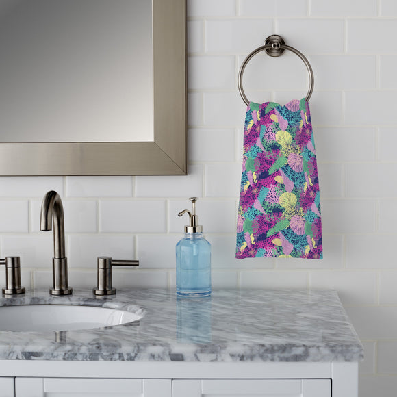 Coral Sea Hand Towel