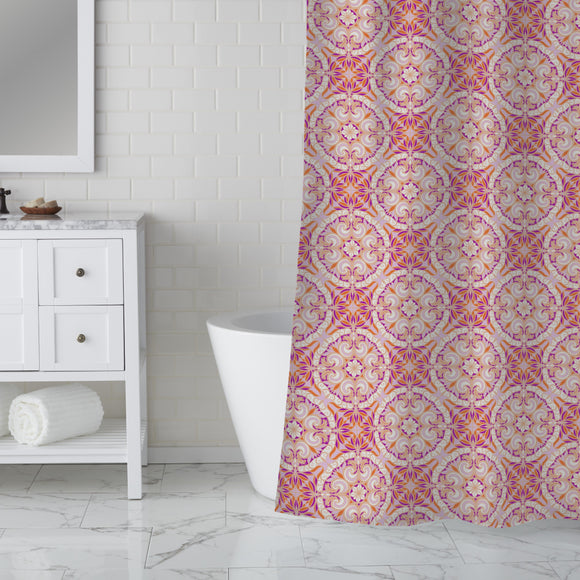 Floral Arabesques Shower Curtain