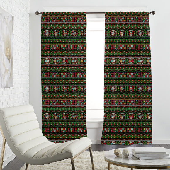 Hungarian Embroidery  Curtains