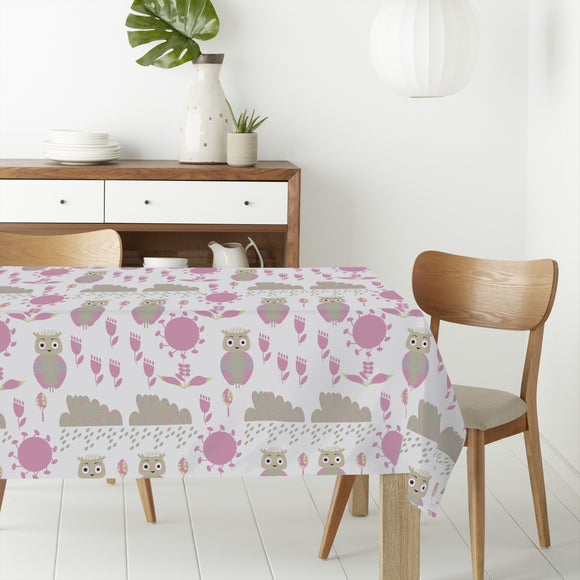 Owl Dream Rectangle Tablecloths