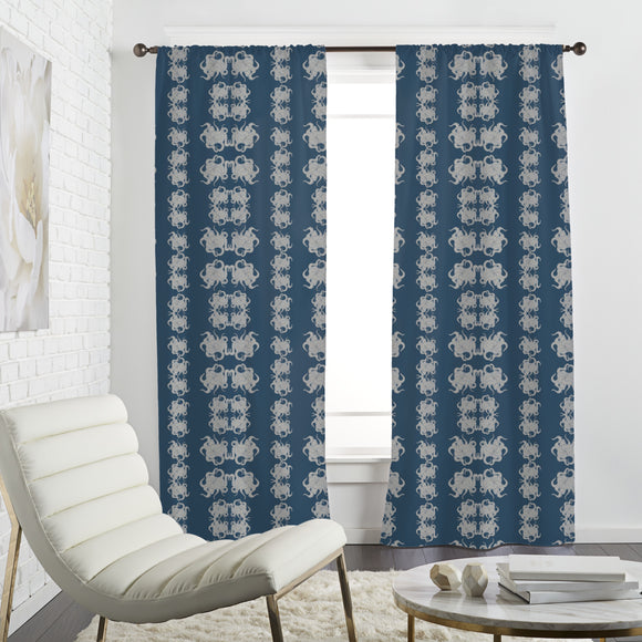 Abstract Octopus Curtains
