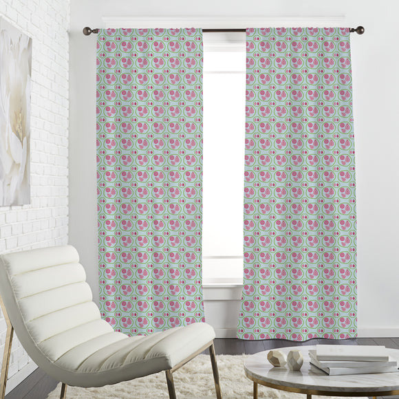 Dragon Fruit Family Curtains