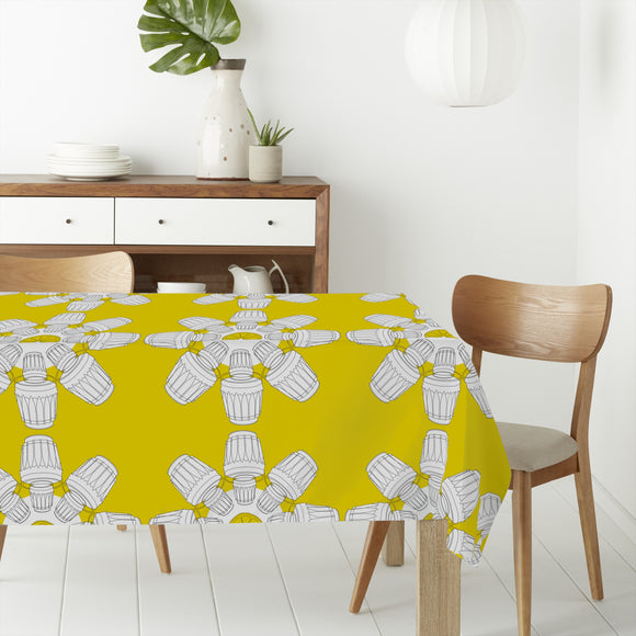Cups Rectangle Tablecloths