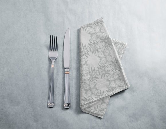 Peacock Feather Butterfly Napkins