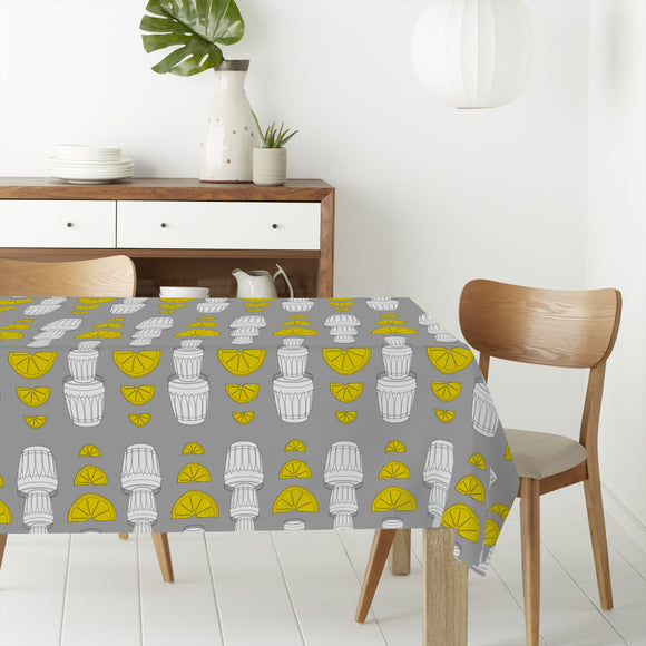 Tequila Lemon Rectangle Tablecloths