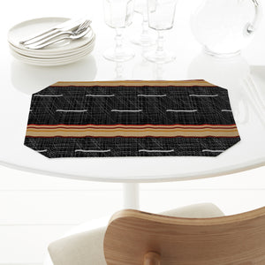 Aboriginal Texture Rectangle Tablecloths