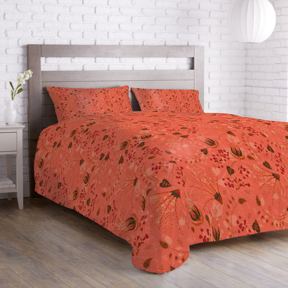 Natashas Magic Garden Apricot Duvet