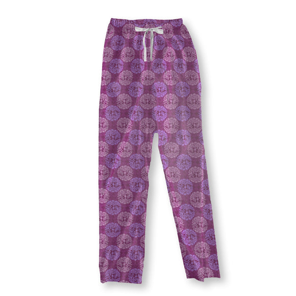 Calm Wood Purple Pajama Pants