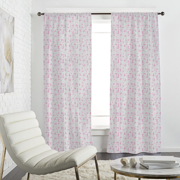 Batik Soft Curtains