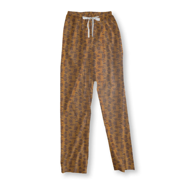 New Wave Brown Pajama Pants