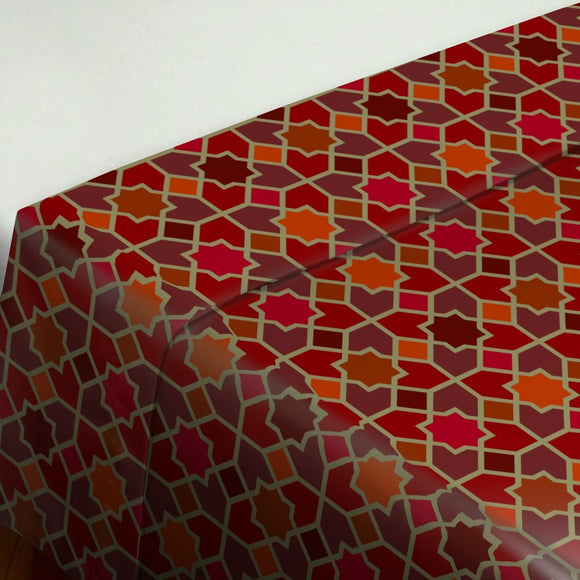 Morocco Red Flat Sheets