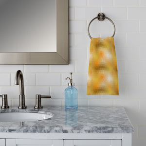 Disco Gold Hand Towel
