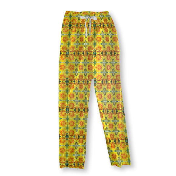 Queen Of Roses Pajama Pants