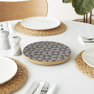 Acacia Leaves Lazy Susan